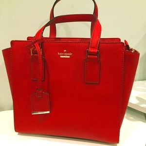 Kate Spade Red Bag (Cameron Street Small Hayden)